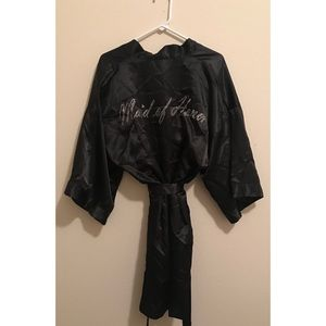 Icing Maid of Honor Black Robe